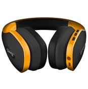 Fone De Ouvido Headphone Pulse Over Ear Wireless Amarelo PH151 Mult...