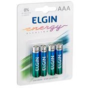 Pilha Alcalina Energy 1.5 V Aaa 4 Unidades 82155 Elgin