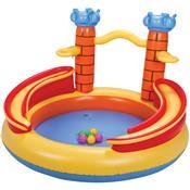 Playground Castelo Piscina Inflável Infantil Mor
