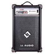 Caixa Amplificada Multiuso 25w Rms Bivolt Ll100 Ll Áudio