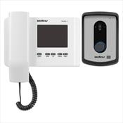 Vídeo Porteiro Intelbras IV 4010 HS 4 Pol Branco Com Display