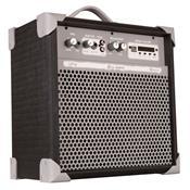 Caixa De Som Amplificada 45w Usb 6 Pol Preto Up6 Ll Áudio