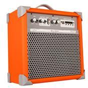 Caixa De Som Amplificada Usb 45w 6 Pol Laranja Up6 Ll Áudio