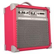 Caixa De Som Amplificada 45w Usb 6 Pol Pink Up6 Ll Áudio