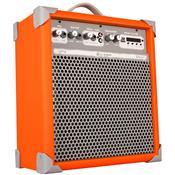 Caixa De Som Amplificada 55w 8 Pol Laranja Up8 Ll Áudio