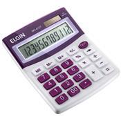 Calculadora De Mesa Com Dupla Fonte De Energia Mv4127 Elgin