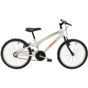 Bicicleta Masculina Aro 20 Monomarcha Branca 7136 Polimet