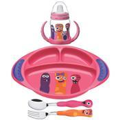 Kit Infantil Monster Kids 4 Peças 23799498 Tramontina