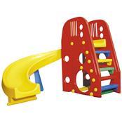 Escorregador Infantil Alpha Brinquedos Helix Play Vermelho/Amarelo