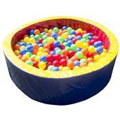 Piscina De Bolinhas Alpha Brinquedos Circular 130cm