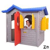 Casinha Infantil Tropical Cinza 0945.5 Xalingo