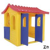Casinha Infantil Encantada Amarela 0966.6 Xalingo