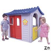 Casinha Infantil Encantada Cinza 0966.8 Xalingo