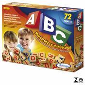 Jogo Educativo Brincando Abc Com 72 Peças 5266.5 Xalingo