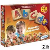 Jogo Educativo Brincando Abcd 144 Peças 5264.3 Xalingo