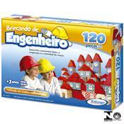 Jogo Brincando De Engenheiro 120 Peças 5279.8 Xalingo