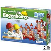 Jogo Brincando De Engenheiro 200 Peças 5306.5 Xalingo