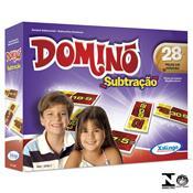 Jogo De Dominó Subtração 28 Peças 5258.7 Xalingo