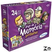 Jogo Da Memória Profissões 24 Peças 5095.4 Xalingo