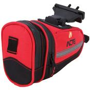 Bolsa Para Selim De Bicicleta Vermelho A24 Acte