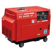 Gerador À Diesel Trifásico 5000W 380V Fechado Dg-6000St-Trif Kawashima