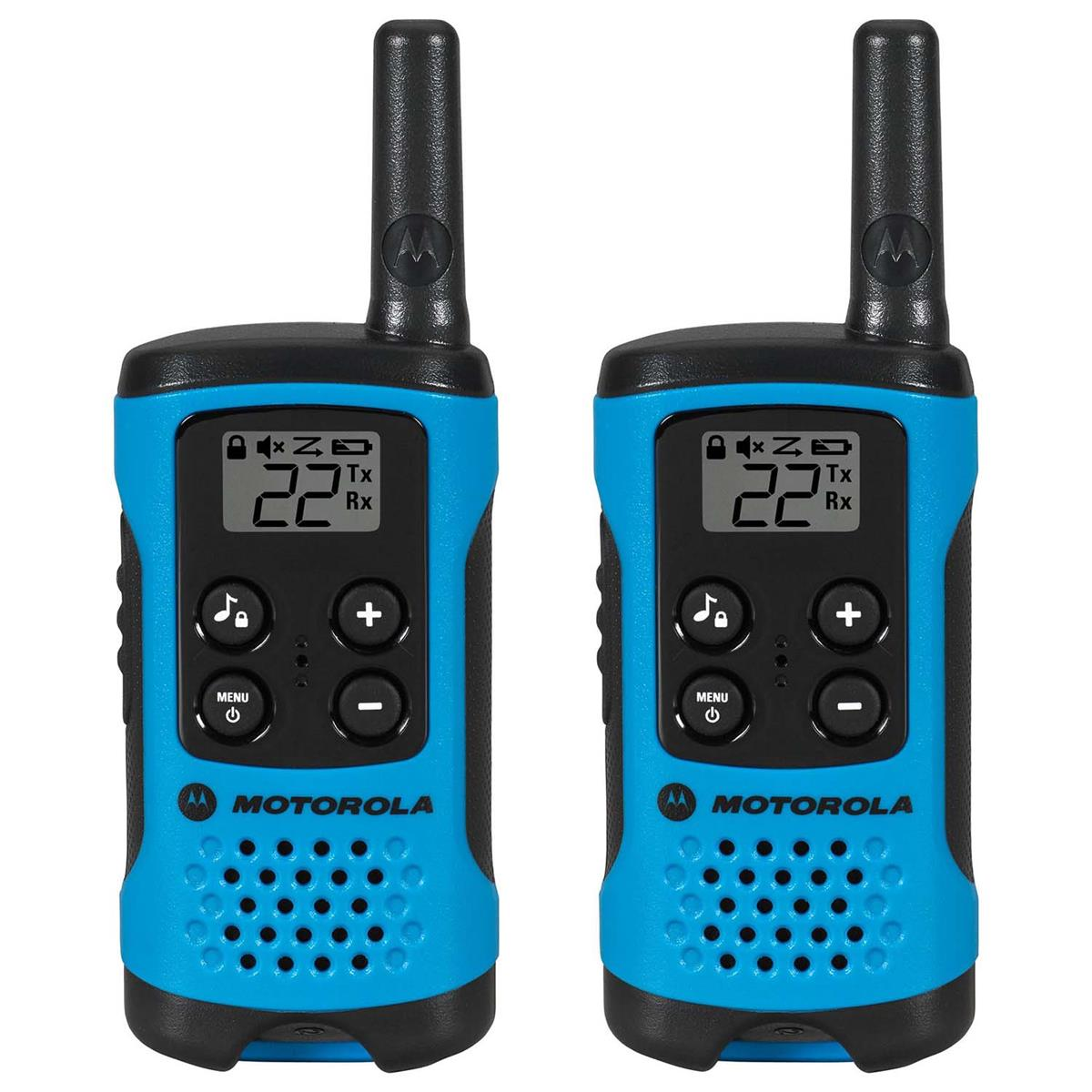 Rádio Comunicador Talkabout 25Km Azul T100br Motorola