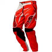 Calça Infantil De Motocross Insane 3 Vermelho E Branco Pro Tork