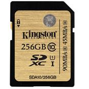 Cartão De Memória Sda3/256Gb Uhs-I U3 Ultimate Kingston