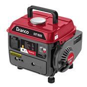 Gerador De Energia Branco B2t-950S A Gasolina 110V Partida Manual