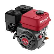 Motor A Gasolina Branco B4t5.5H 5.5Cv Horizontal Partida Manual