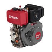 Motor A Diesel Branco BD5.0G2 5Cv 211cc Partida Elétrica