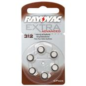 Pilha Auditiva Aparelho Surdez 312 1.4V Extra Advanced Rayovac