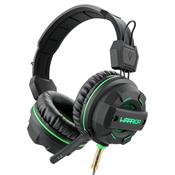 Fone De Ouvido Headphone Gamer Green Usb Led PH143 Multilaser