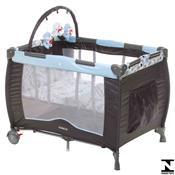 Berço Desmotável Portátil 110 X 76cm Toybar Azul Cosco