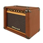 Cubo De Guitarra 30 W Rms Marrom Ocg-100-mr Oneal