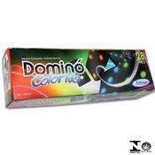 Jogo De Dominó De Madeira Pingos Color 53032 Xalingo