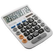 Calculadora Solar De Mesa LCD 12 Dígitos Branca Mv4132 Elgin