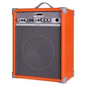 Caixa De Som Amplificada 65W 10 Pol Light Orange UP!10 LL Áudio
