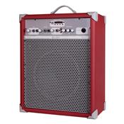Caixa De Som Amplificada 65W 10 Pol Deep Red UP!10 LL Áudio