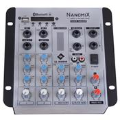 Mesa De Som Nanomix Bluetooth 7.5W 4 Canais NA502RBT LL Áudio