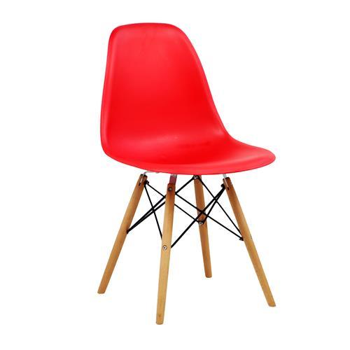 Cadeira Design Charles Eames Vermelha Tl-Cdd-02-5 Trevalla