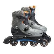 Patins Infantil Ajustáveis G2 37 Á 40 Hot Wheels 8007-9 Fun