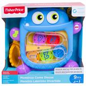 Monstro Labirinto Divertido Ffc06 Fisher Price