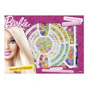 Conjunto Pulseira Infantil Miçangas Fashion Da Barbie 6991-3 Fun
