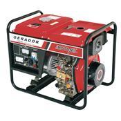 Gerador De Energia À Diesel 5 Kva 220V 380V Mdgt-5000Cle Motomil