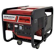 Gerador De Energia À Gasolina Monofásico 115V 230V Mg-11000cle Motomil