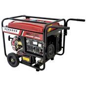 Gerador De Energia À Gasolina 13Hp 110V 220V Mgt-6000Cle Motomil