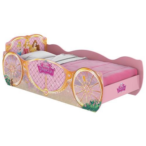 eadf845c1f Cama Infantil Carruagem Princesas Disney Star Pura Magia na Estrela10