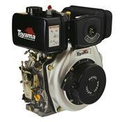 Motor Estacionário A Diesel Toyama Td70fs Partida Manual 7Hp 296Cc