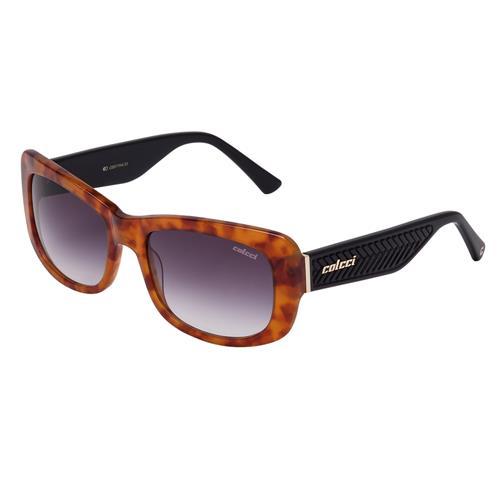 9fc4221af5946 Óculos De Sol Feminino Amarelo Demi e Preto Brilho C0017 Colcci na ...